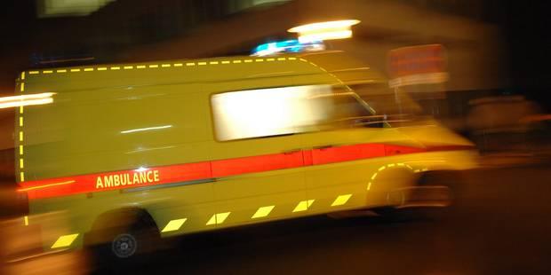 Un blessé dans un spectaculaire accident à Profondeville - La DH