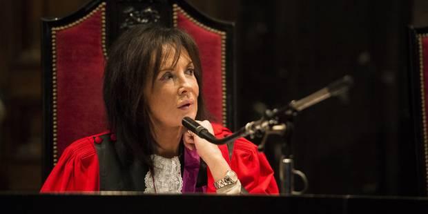 Karin Gérard agressée à la sortie du Palais de justice de Bruxelles - La DH