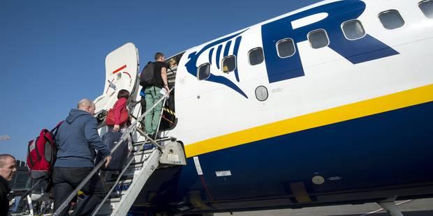 Ryanair: hausse de 17% du nombre des passagers en Belgique - La DH