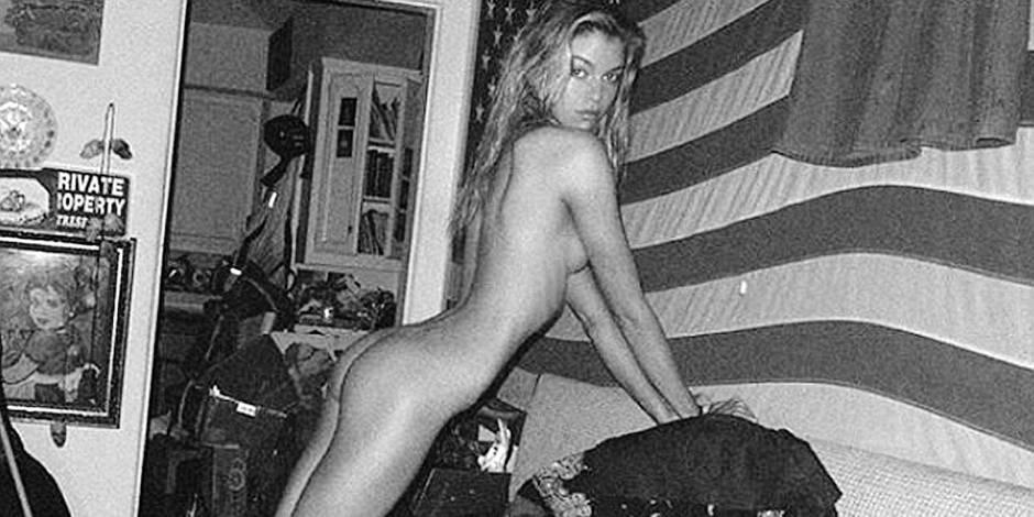 L'ex de Miley Cyrus se met à nu