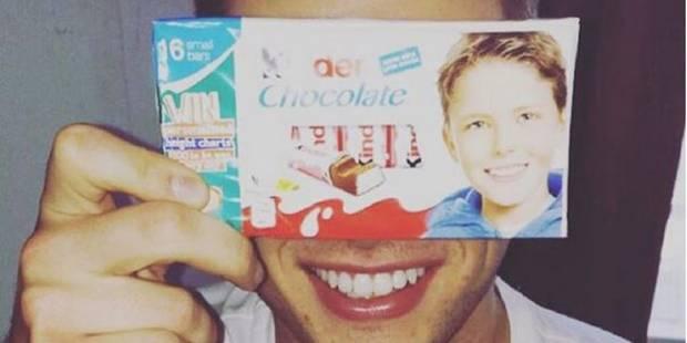 Voici le petit garçon des paquets Kinder Chocolat (et il a bien changé !) - La DH