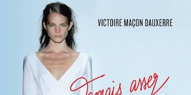 """Victoire, ex-mannequin anorexique, témoigne contre le """"diktat de la maigreur"""" - La DH"""