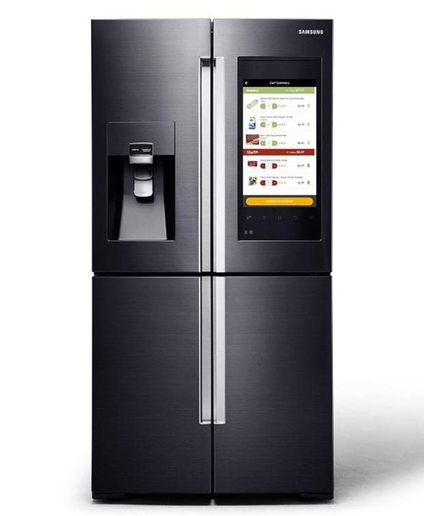 frigo americain avec ecran tactile ustensiles de cuisine. Black Bedroom Furniture Sets. Home Design Ideas