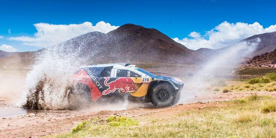 Dakar: Loeb et Peugeot à l'épreuve des dunes