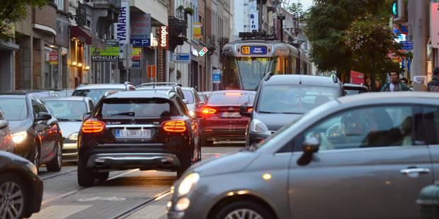 Trafic : à nouveau la pagaille dans Bruxelles - La DH