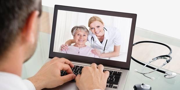 La vidéo-consultation pour faire face à la pénurie de médecins - La DH