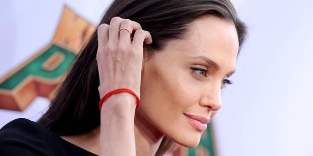 Angelina Jolie inquiète par sa maigreur - La DH