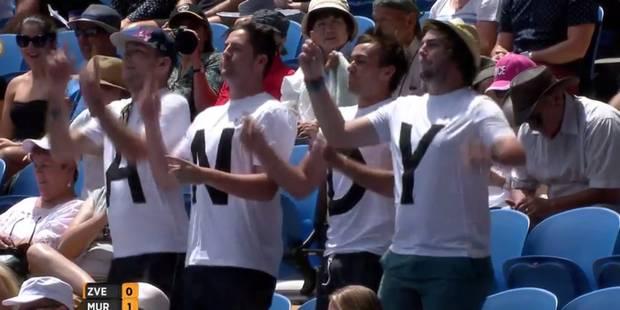 Open d'Australie: les supporters de Murray donnent de la voix - La DH