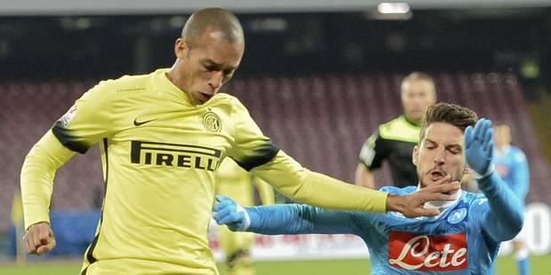 Coupe d'Italie: Naples et Dries Mertens, exclu, sont éliminés par l'Inter Milan - La DH