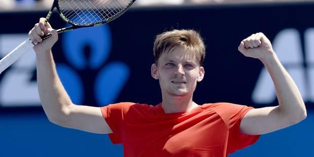Open d'Australie: perturbé par des douleurs d'estomac, David Goffin se qualifie toutefois pour le troisième tour (PHOTOS...