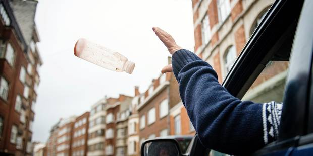 Bruxelles: 6.000 amendes pour comportement incivique en 2015