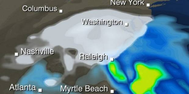 Fermeture du métro, vols annulés et supermarchés dévalisés: les USA face au blizzard - La DH