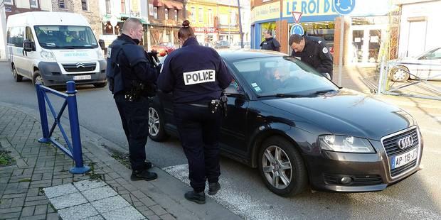 Erquelinnes: les frontières sont ouvertes entre la Belgique et la France - La DH