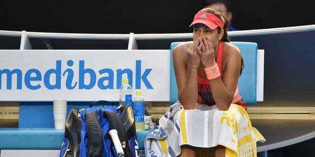 Open d'Australie: le coach d'Ana Ivanovic victime d'un malaise en plein match (PHOTOS) - La DH