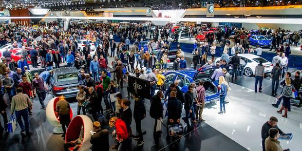 Plus de 555.000 visiteurs au Salon de l'Auto et de la Moto - La DH