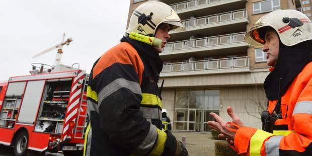 Un SDF boute volontairement le feu dans un studio à Bruxelles - La DH