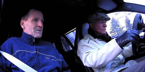 Petter Solberg se déguise en papy et traumatise ses passagers - La DH