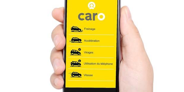 L'application qu'une assurance belge utilise pour contrôler votre conduite - La DH