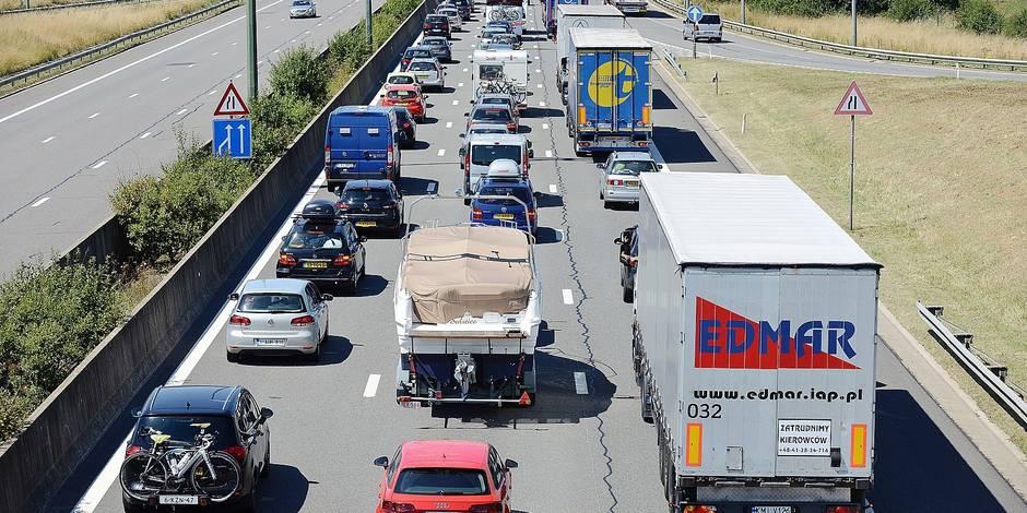 260.000 véhicules sur les routes du BW - La DH