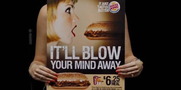 """""""Oui, j'aime faire des pipes aux sandwiches"""" : la vidéo qui se moque du sexisme dans la publicité - La DH"""