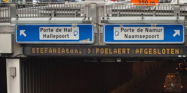 Bruxelles: plusieurs tunnels doivent être rénovés d'urgence ! - La DH