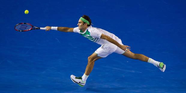 Open d'Australie: Federer réussit le point du tournoi (VIDEO) - La DH