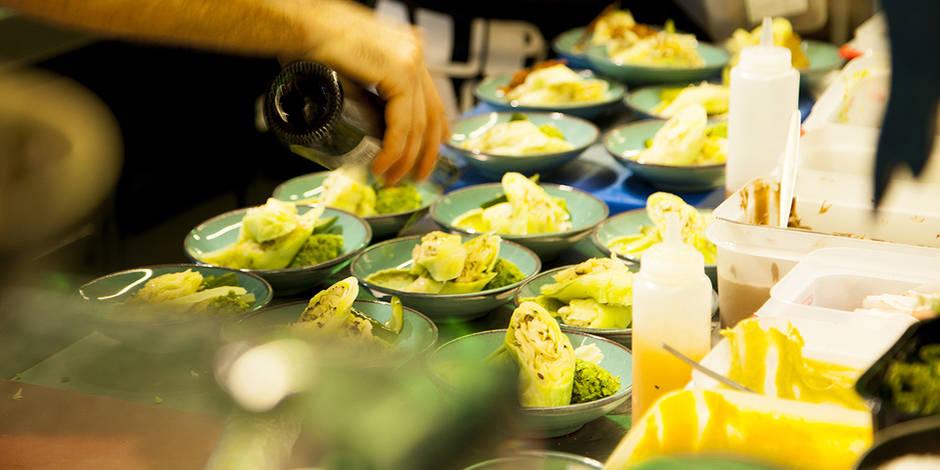 """Un menu gastronomique à base de """"déchets"""" servi dans un resto bruxellois"""