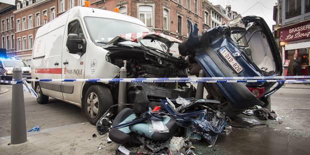 Grave accident à Liège: six blessés dont deux dans un état critique (PHOTOS & VIDEO) - La DH