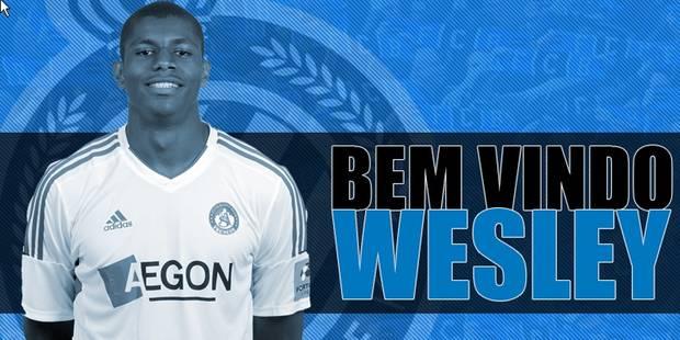 Le Club Bruges engage l'attaquant brésilien Wesley Moraes - La DH