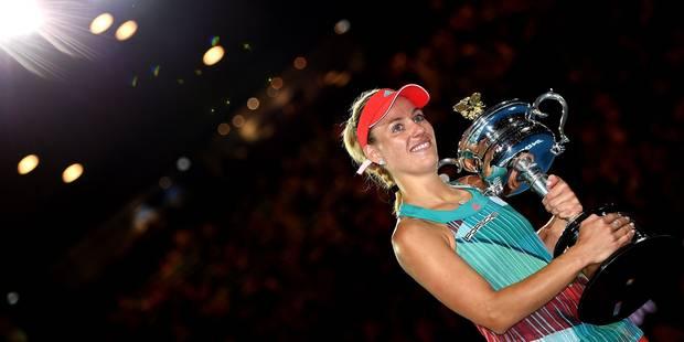 Angélique Kerber, nouvelle dauphine de Serena Williams au classement WTA - La DH