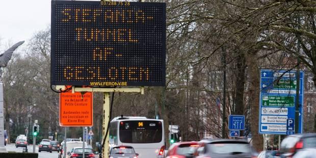 Tunnels bruxellois: Un trafic relativement fluide à Louise ce mardi matin - La DH