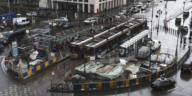 Tunnels bruxellois: Bilan encourageant pour le nouveau plan de circulation place Louise - La DH