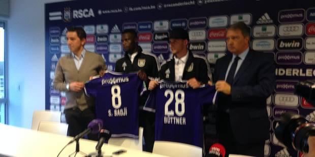 Büttner et Badji présentés à la presse, Hasi et Van Holsbeeck réagissent - La DH