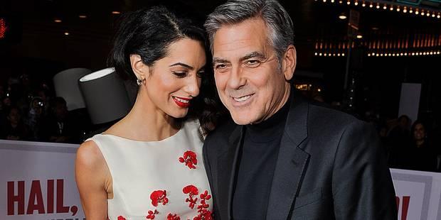 Un avant-goût de Saint-Valentin avec George et Amal Clooney - La DH