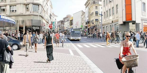 La chaussée d'Ixelles sans voiture déjà compromise - La DH
