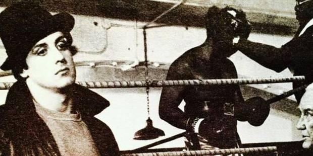 Stallone se souvient de Rocky avec des photos rares - La DH