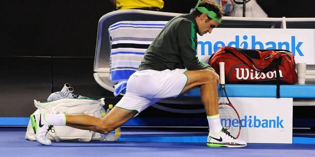 Roger Federer n'aurait jamais pensé se blesser en faisant cela... - La DH