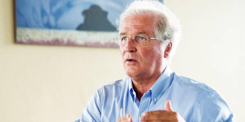 Bruxelles - Didier Gosuin : Ministre du Gouvernement de la Région de Bruxelles-Capitale chargé de l'Economie et de l'Emploi fait sa rentrée politique