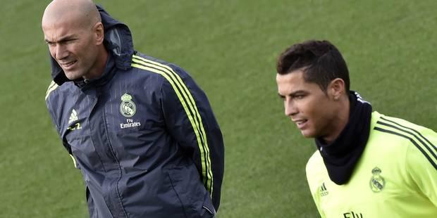 """Zidane """"en admiration"""" devant le """"monstre"""" Ronaldo"""