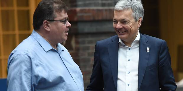 Les ministres des Affaires étrangères européens travaillent sur une crise... fictive - La DH