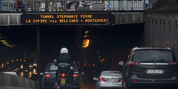 Bruxelles: Un plan de mobilité des Verts vise la fermeture des tunnels d'ici 10 ans - La DH
