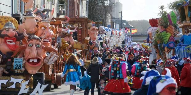 Intempéries: Le cortège du Rosenmontag et le carnaval d'Alost annulés - La DH