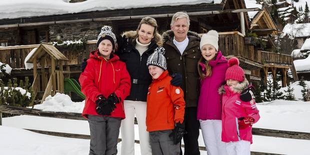 Les photos des vacances privées de la famille royale - La DH