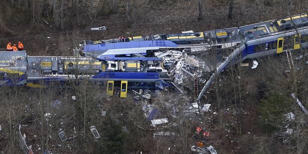 """Une """"erreur humaine"""" à l'origine de l'accident de train en Bavière - La DH"""