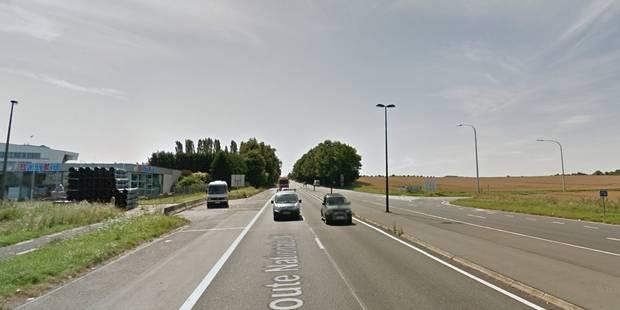 Rhisnes: un septuagénaire perd la vie sur la N4, percuté par un camion-poubelles - La DH