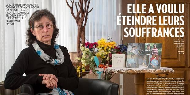 Elle tue ses deux enfants handicapés et parle d'histoire d'amour - La DH