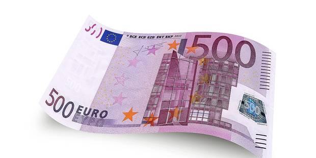 Le billet de 500 € en sursis - La DH
