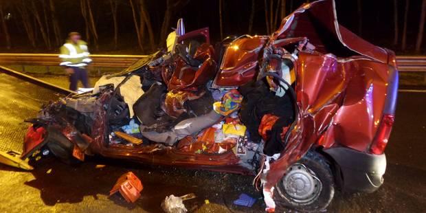 Heppignies: accident mortel sur l'autoroute E42 - La DH