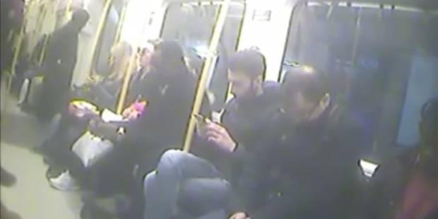 """Enceinte, elle piège les usagers du métro londonien pour montrer leur """"égoïsme"""" (VIDEO) - La DH"""