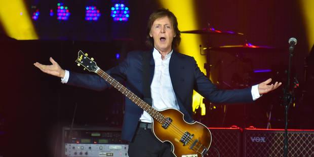 Sir Paul McCartney pour la première fois à Rock Werchter - La DH